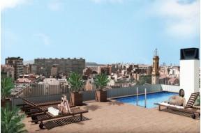 Квартиры в элитном районе Барселоны, новостройка, подземный гараж, бассейн