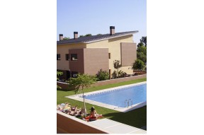 Newly built house in the coastal town of Cambrils, Costa Dorada