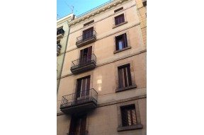 Building with tourist apartments in the Gothic area, Barcelona